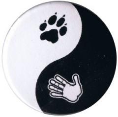"""Zum 50mm Button """"Yin Yang"""" für 1,20 € gehen."""