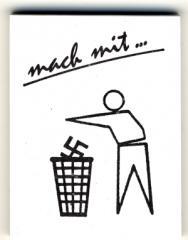 """Zum Spucki / Schlecki / Papieraufkleber """"Mach mit ..."""" für 1,00 € gehen."""