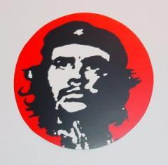 """Zum Aufkleber """"Che Guevara"""" für 1,00 € gehen."""