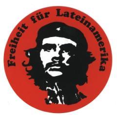"""Zum Aufkleber """"Freiheit für Lateinamerika"""" für 1,00 € gehen."""