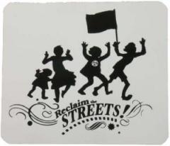 """Zum Aufkleber """"Reclaim the Streets"""" für 1,00 € gehen."""