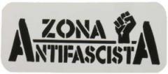 """Zum Aufkleber """"Zona Antifascista"""" für 1,00 € gehen."""