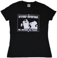 """Zum tailliertes T-Shirt """"Alexandros Grigoropoulos"""" für 13,65 € gehen."""