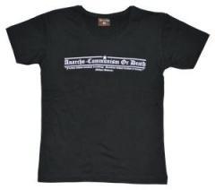 """Zum tailliertes T-Shirt """"Anarcho-Communism or Death"""" für 14,50 € gehen."""