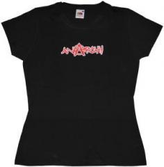 """Zum tailliertes T-Shirt """"Anarchy"""" für 14,00 € gehen."""