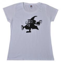 """Zum tailliertes T-Shirt """"Anarchy Bomb"""" für 13,65 € gehen."""