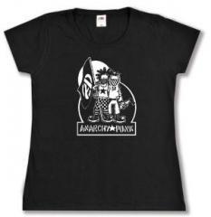 """Zum tailliertes T-Shirt """"Anarchy Punk"""" für 13,65 € gehen."""