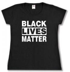 """Zum tailliertes T-Shirt """"Black Lives Matter"""" für 14,00 € gehen."""
