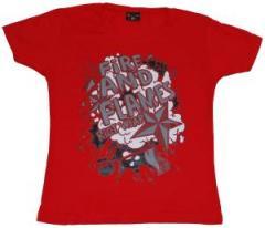 """Zum Girlie-Shirt """"Comics red"""" für 17,00 € gehen."""