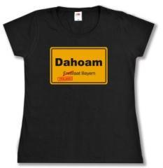 """Zum Girlie-Shirt """"Dahoam"""" für 12,00 € gehen."""