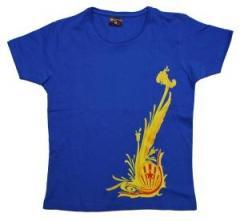 """Zum tailliertes T-Shirt """"Dragon Gold"""" für 14,13 € gehen."""