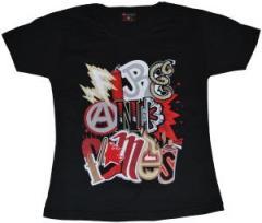 """Zum Girlie-Shirt """"Elements black"""" für 18,00 € gehen."""