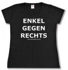 """Zum tailliertes T-Shirt """"Enkel gegen Rechts"""" für 13,65 € gehen."""