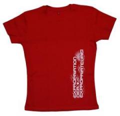 """Zum tailliertes T-Shirt """"Expropriation der Expropriateure!"""" für 19,50 € gehen."""