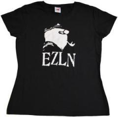 """Zum tailliertes T-Shirt """"EZLN (Marco)"""" für 11,70 € gehen."""