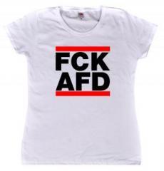 """Zum tailliertes T-Shirt """"FCK AFD"""" für 13,65 € gehen."""