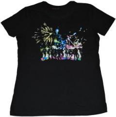 """Zum tailliertes T-Shirt """"Fireworks"""" für 19,50 € gehen."""