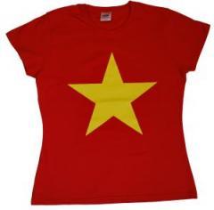 """Zum tailliertes T-Shirt """"Gelber Stern"""" für 14,00 € gehen."""
