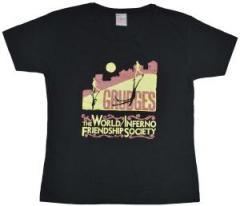 """Zum tailliertes T-Shirt """"Grudges"""" von World Inferno/Friendship Society für 12,00 € gehen."""