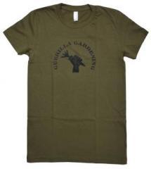 """Zum tailliertes T-Shirt """"Guerilla Gardening"""" für 19,50 € gehen."""