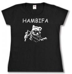 """Zum tailliertes T-Shirt """"Hambifa"""" für 13,65 € gehen."""