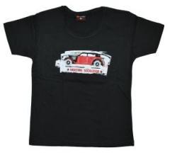 """Zum tailliertes T-Shirt """"Industria Socializada"""" für 14,13 € gehen."""