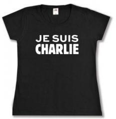 """Zum tailliertes T-Shirt """"Je suis Charlie"""" für 13,65 € gehen."""