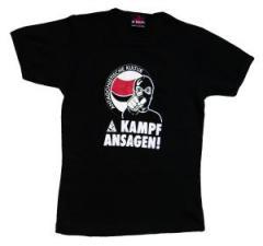 """Zum Girlie-Shirt """"Kampfansagen"""" für 14,90 € gehen."""