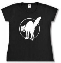 """Zum tailliertes T-Shirt """"Katze"""" für 13,65 € gehen."""