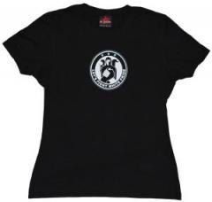 """Zum tailliertes T-Shirt """"Let´s Fight White Pride"""" für 14,52 € gehen."""