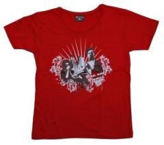"""Zum tailliertes T-Shirt """"Liberation Red"""" für 14,13 € gehen."""