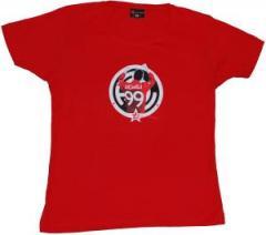 """Zum tailliertes T-Shirt """"Lucarelli red"""" für 16,57 € gehen."""
