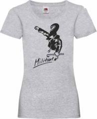 """Zum Girlie-Shirt """"Militant"""" für 15,00 € gehen."""