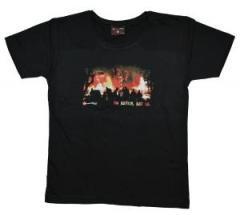 """Zum tailliertes T-Shirt """"No Justice - Just Us"""" für 14,50 € gehen."""