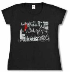 """Zum tailliertes T-Shirt """"Oldschool Attitude"""" für 13,65 € gehen."""