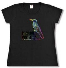 """Zum Girlie-Shirt """"Paradiesvögel statt Reichsadler"""" für 20,00 € gehen."""