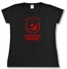 """Zum tailliertes T-Shirt """"Red Action"""" für 13,65 € gehen."""