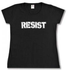"""Zum tailliertes T-Shirt """"Resist"""" für 13,65 € gehen."""