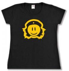 """Zum tailliertes T-Shirt """"Revolusmile"""" für 13,65 € gehen."""