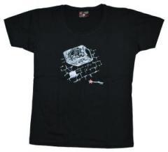 """Zum tailliertes T-Shirt """"Rock"""" für 13,65 € gehen."""
