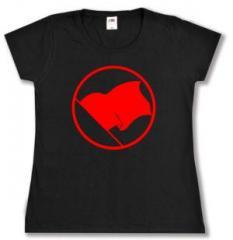 """Zum Girlie-Shirt """"Rote Fahne"""" für 13,00 € gehen."""