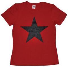 """Zum tailliertes T-Shirt """"Schwarzer Stern"""" für 14,00 € gehen."""