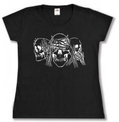 """Zum tailliertes T-Shirt """"Skulls"""" für 13,65 € gehen."""