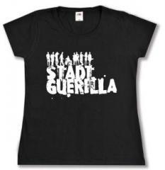 """Zum tailliertes T-Shirt """"Stadtguerilla"""" für 13,65 € gehen."""