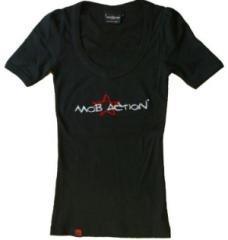 """Zum tailliertes T-Shirt """"Starstitch 1 black"""" für 19,45 € gehen."""