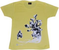 """Zum tailliertes T-Shirt """"Stop Control gold"""" für 16,57 € gehen."""