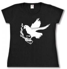 """Zum Girlie-Shirt """"Taube mit Molli"""" für 14,00 € gehen."""