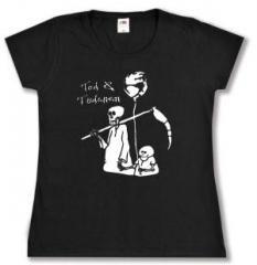 """Zum Girlie-Shirt """"Tod und Tötchen"""" für 13,00 € gehen."""