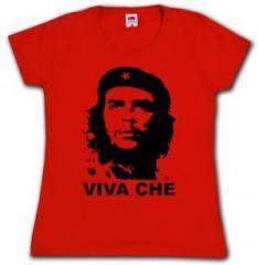 """Zum tailliertes T-Shirt """"Viva Che Guevara"""" für 14,00 € gehen."""