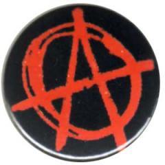"""Zum 25mm Button """"Anarchie (rot)"""" für 0,78 € gehen."""